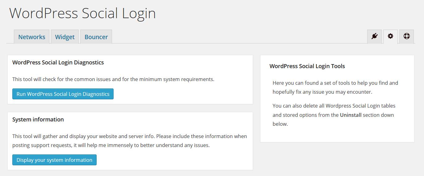 Troubleshooting - WordPress Social Login